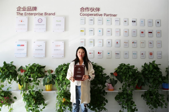 祝贺派多格学员刘女士在哈尔滨开店