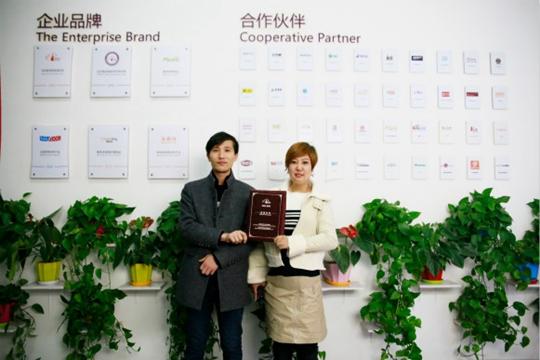 祝贺派多格学员冷女士和高先生在上海开店