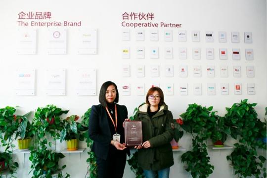 祝贺派多格学员宋女士在北京昌平开店