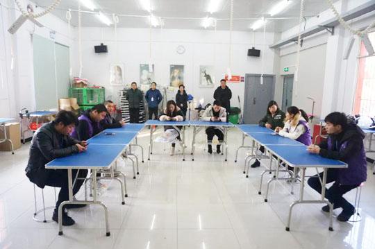 武汉派多格宠物技术专修学校第16期C级美容班毕业典礼